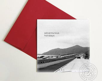 Holiday Card Merry Christmas Road Trip California Christmas
