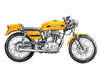 Ducati Motorcycle Gift Printable Vintage Motorcycle Motorcycle Art Motorcycle Decor Motorcycle Wall Art Motorcycle Poster Motorcycle Print