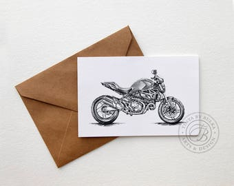 Ducati Gift Ideas Ducati Ducati Gifts Men Motorcycle Gift Card For Dad Ducati Print Gift Boyfriend Card Boyfriend Birthday