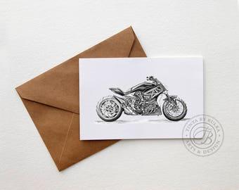 Ducati Gift Ideas Ducati Ducati Gifts Men Motorcycle Gift Card For Dad Ducati Print Gift Boyfriend Card Boyfriend Birthday