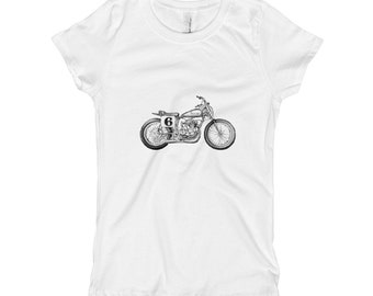 Triumph Motorcycle Motorcycle Shirt Triumph Triumph T Shirt Vintage Motorcycle Kids Shirt Kids T Shirt Boy T Shirt Funny Kids Shirt