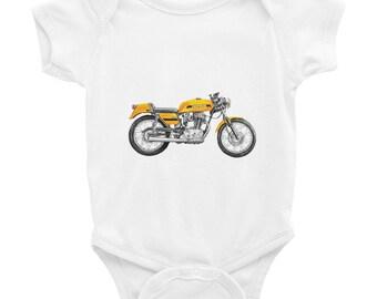 Baby Shower Gift  Onesie for Boy  Cute Baby Onesies  Newborn Outfit  Unisex Onesie  Hipster Baby  Motorcycle Onesie  Baby Boy Motorcycle