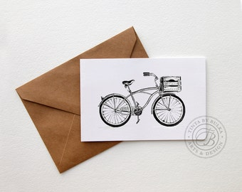 Cycling Gift Cards for Him Cycling Art Boyfriend Card Gifts for Cyclists Bicycle Gift Ideas Men Cyclist Gift Bike Lover Gift Wanderlust