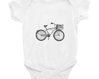 Baby Shower Gift Cute Onesies Cute Baby Clothes Tintabybulka Baby Girl Gift Bicycle Onesies Bike Onesies Funny Bodysuit Baby Bike Baby
