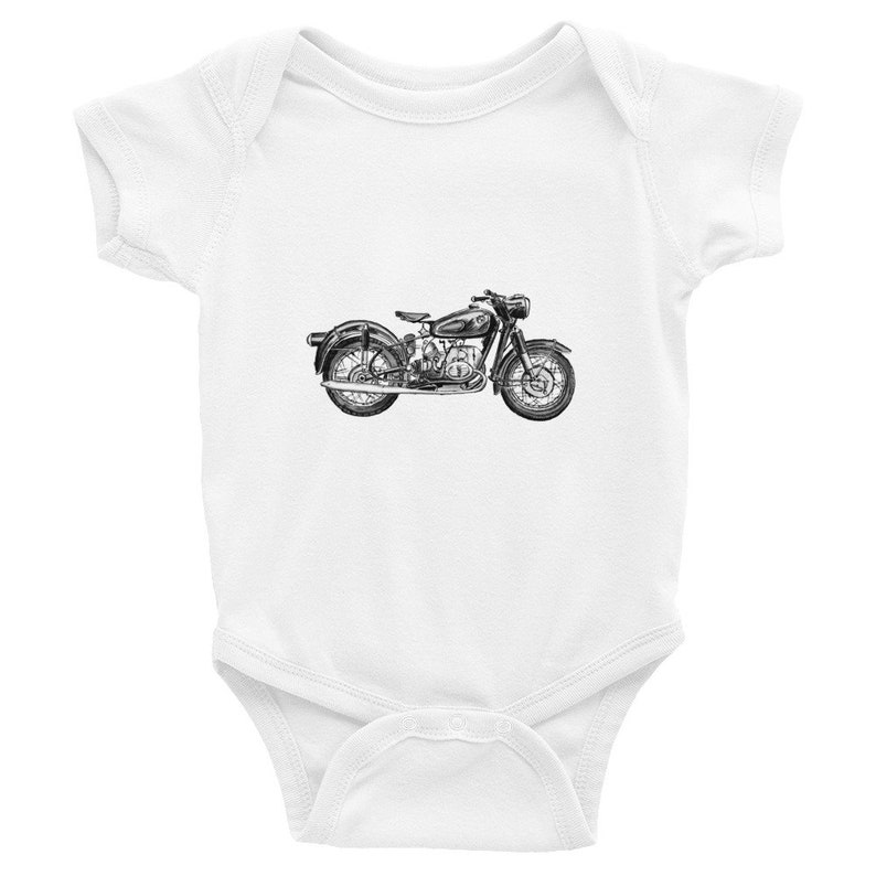 sous v/êtement Enfant Grosse Moto Ma Petite Vitrine Body Coton b/éb/é
