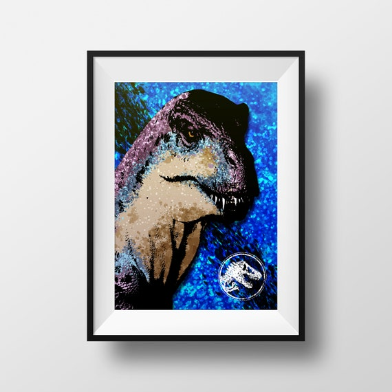 Custom Jurassic World Evolution Personalized Art Print Poster Wall Decor