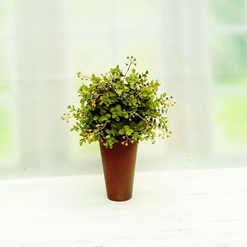 Artificial Plant Faux House Plants Potted Home