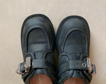 debae8e6968 Jeffrey campbell 90s vibe shoes metal buckle witchcrafts