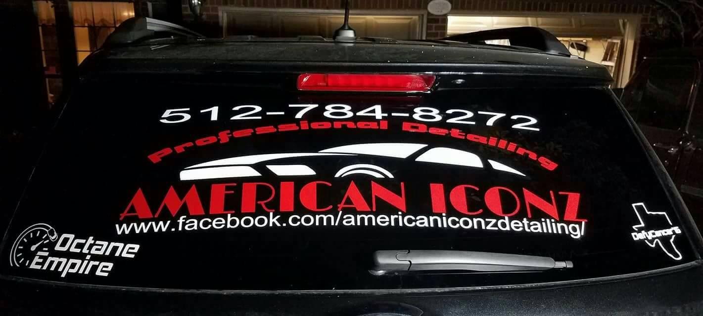 custom car window decals sports team business logos custom