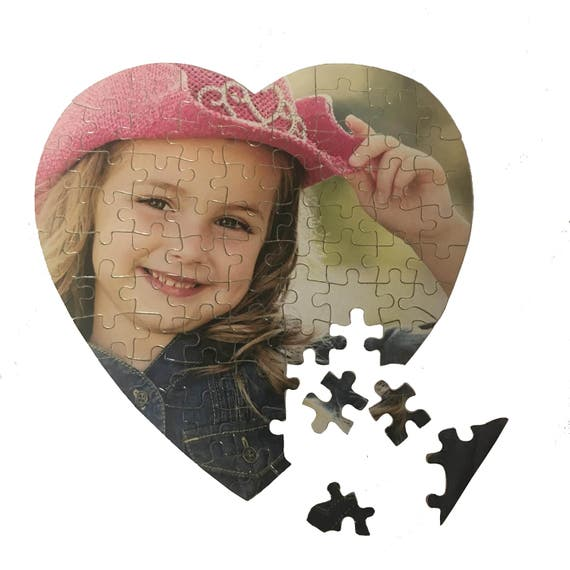 Personalised Heart Jigsaw Puzzle
