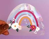Rainbow suncatcher sticker for window sticker