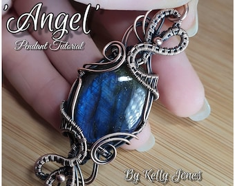 Angel Tutorial by Kelly Jones. A 36 page instant download with over 150 images to follow along.