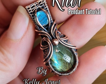 Pendant Tutorial 'Kiwi' is an instant download pdf file. This step by step tutorial is easy to follow. Recommended for an advanced beginner.