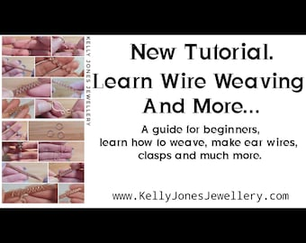 This tutorial download is a bundle pack full of small tutorial techniques to help you weave, make ear wires, clasps and much more. Beginner.