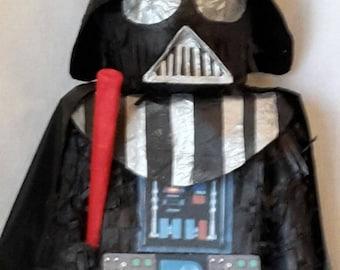Darth Vader Star Wars inspired Piñata. Made to order. New