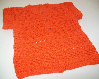 Creative knitting or crochet entirely manually work neat Grandma knitting