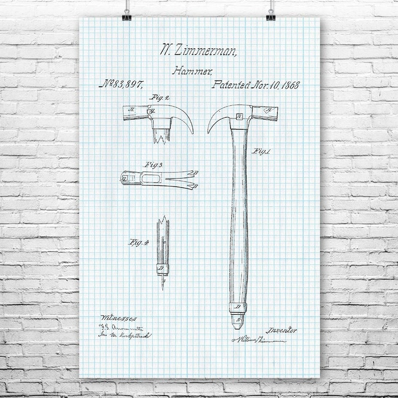 Retractable Measuring Tape Poster Print Dad Gift Man Cave Art Handyman Gift