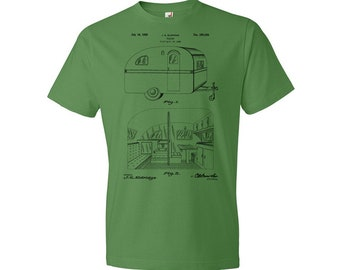 RV Trailer T-Shirt, Camper, Mobile Home, Camping Trailer, Gift