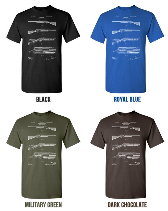 Browning Auto5 A5 Shotgun T-Shirt Mens Tee Many Colors Gift New From US