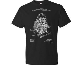 Calculating Machine T-Shirt, Calculator T-shirt, Accountant T-shirt, Adding Machine, Cpa, Accounting, Calculator, Gift