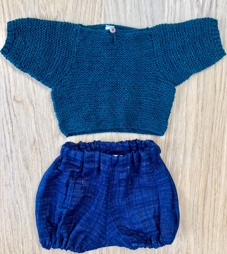 Sweater and Bloomer set