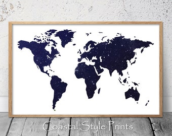 world map printworld printlarge wall artastronomy arthomewall decoraustraliadigital downloadmapoffice wall artmap printboys room