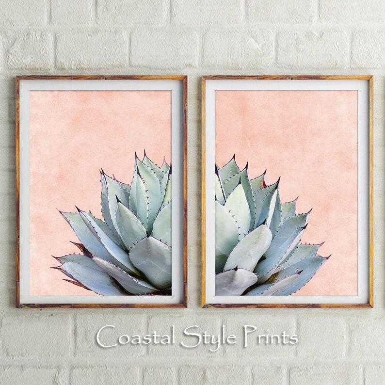 graphic regarding Etsy Printable Wall Art known as Fixed Of 2 Cactus Prints, Cactus Print, Printable Wall Artwork, Cactus,Botanical Print,Cactus Wall Artwork,Blush Crimson Decor,Succulent Print,Wall Decor