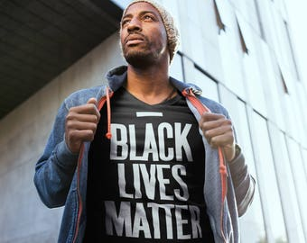 Black Lives Matter Shirt, Black History BLM T-shirt Unisex Activist Movement Clothing, Black Lives Matter Tshirt 100% Cotton