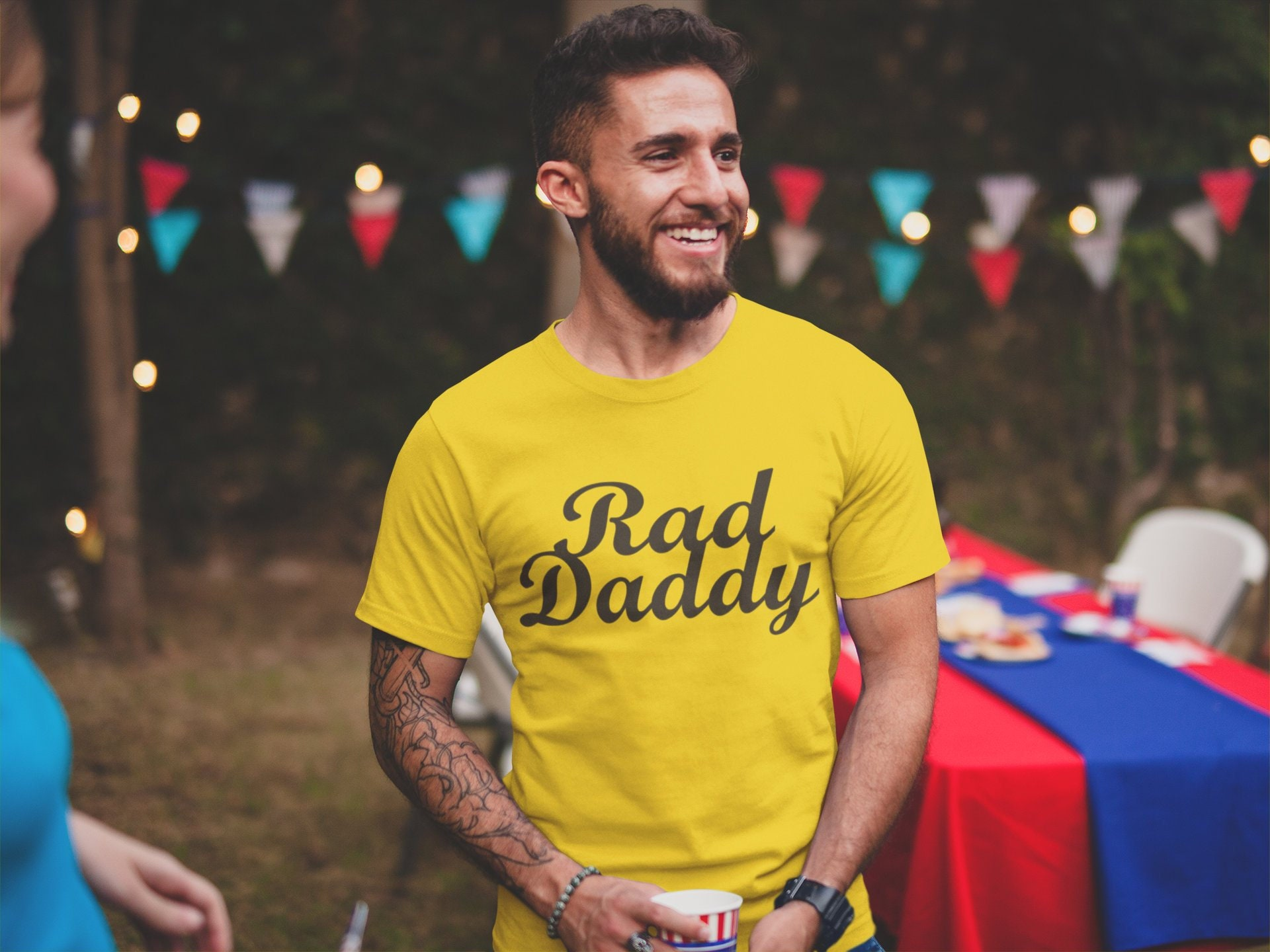 Rad Daddy Shirt For Family Clothing Christmas Gift T Shirt For