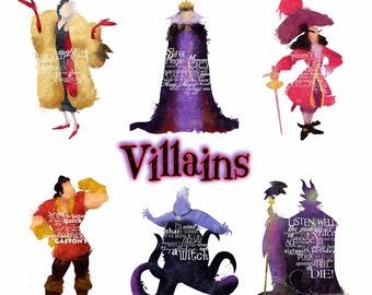 Disney Villians Candle