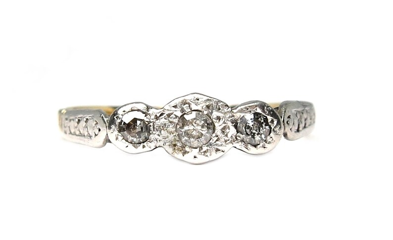 Edwardian-18k gold-platinum-diamond image 0