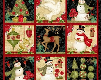 Winter Bliss Christmas Panel (#30)