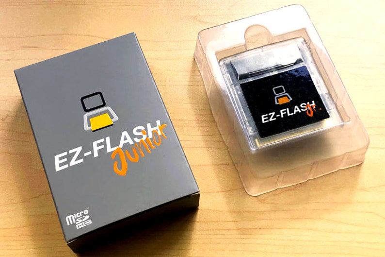 EZ Flash Jr Junior  Gameboy GB Color GBC  Pocket  Nintendo image 0