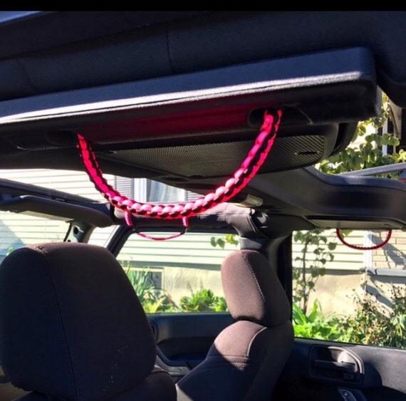 New Tri Color Cobra Sound Bar Paracord Grab Handles