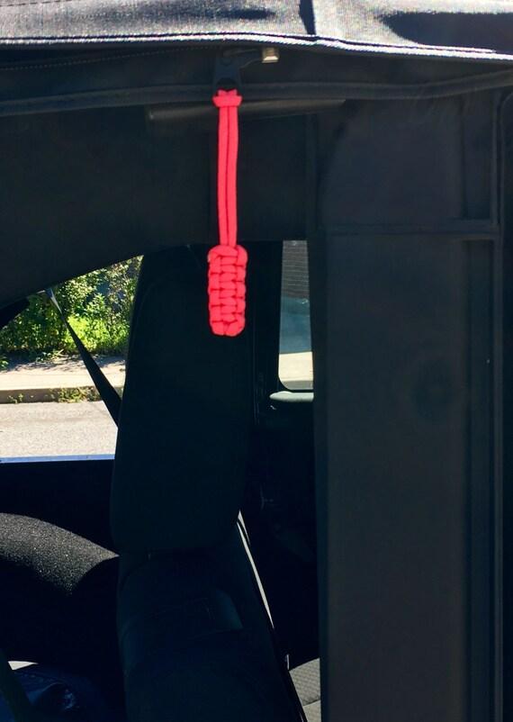 Jeep Paracord Zipper Pulls Set