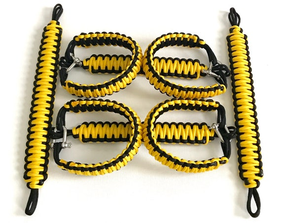 Jeep King Cobra Paracord Grab Handles