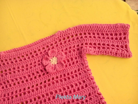Crochet sweater, girls sweaters, Girl Clothes, baby romper, children summer  clothes, pink sweater, Child Sweaters,crochet sweaters, etsy