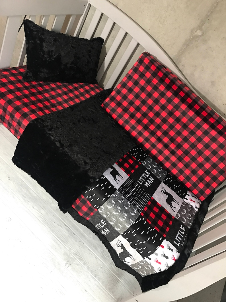 Crib Set Any Print in the Shop