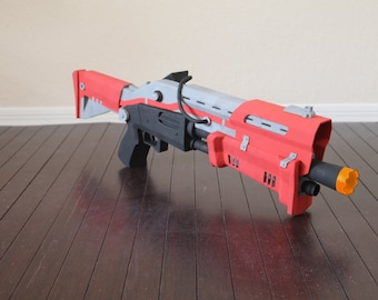 Scar Assault Rifle Legendary Battle Royale 3d Printed Prop Toy Etsy