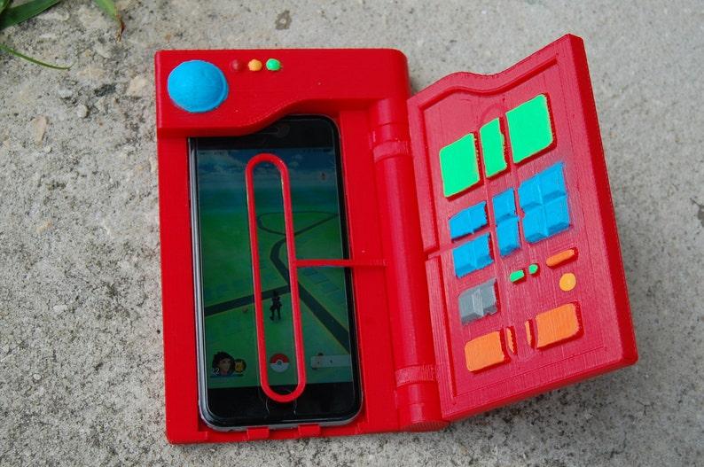 the best attitude 6eaaa c10c8 Pokedex Phone Case with Aimer Pokemon GO 3D Printed Cosplay