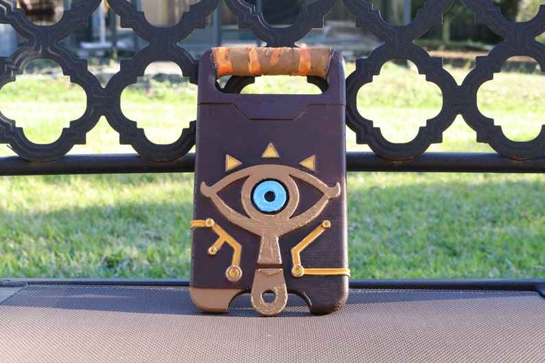 separation shoes 3b058 29b75 Sheikah Slate 3D Print PHONE CASE Breath of the Wild Zelda 3D Print Printed  Cosplay Costume