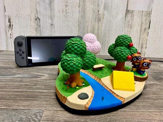 Animal Crossing Island Nintendo Switch Dock 3d Print New Etsy
