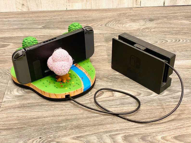 Nintendo Switch Animal Crossing Island Dock 3D Print New image 2
