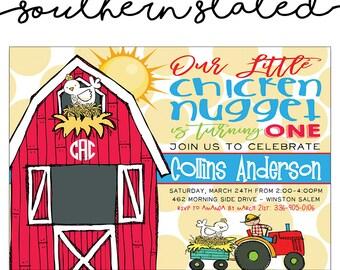 Chicken Invitation