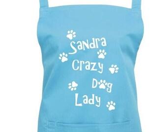 Dog Apron (Crazy Dog Lady)