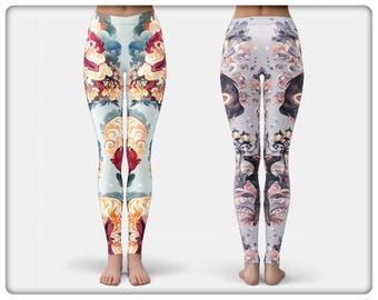 a8ac4e293475a8 Eevee Series Leggings, by Cryptovolans