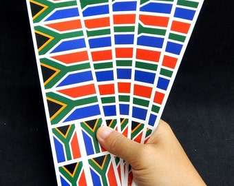 f60b2c765f259 40 Tattoos: South Africa Flag, S. African Party Favors