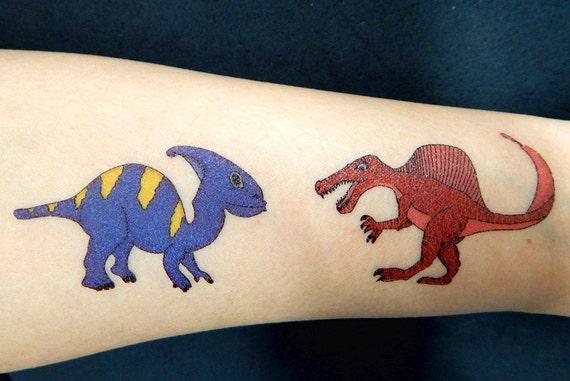 Premium Dinozaur Tatuaże Tymczasowy Tatuaż
