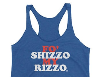 5a24d3df78f157 Fo Shizzo My Rizzo - Anthony Rizzo - Chicago Cubs - Women s Tank