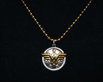 RealTime DC WonderWoman Charm Necklace